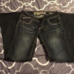 Hydraulic Jeans - Hydraulic Metro Flare Jeans